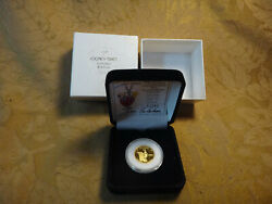 1987 1/4 Ounce .999 Fine Gold Looney Tunes Commemorative Bugs Bunny 1/2500