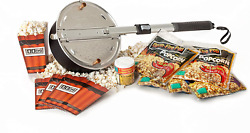 Wabash Valley Farms - Open Fire Pop Gift Set - 5 Popcorn Kits New