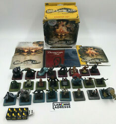 Wotc Dreamblade Lot Base Set 24/96 Figurines + Acc. Tbe Wizards Of The Coast