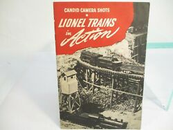 Lionel Trains Candid Camera Shots In Action Booklet 1945 X6720
