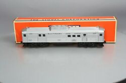 Lionel 6-38313 Baltimore And Ohio Budd Rdc Non- Powered Mail/baggage Car 2550 Ln