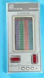 Nintendo Crab Grab Game And Watch Handheld Video Game Fully Working Rare Used