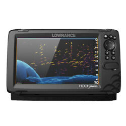 Lowrance Hook Reveal 9 Combo W/tripleshot Transom Mount And C-map Contour+ Card