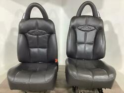97-99 Plymouth Chrysler Prowler Front Seat Set Leather Agate Laz