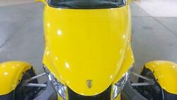 97-02 Plymouth Chrysler Prowler Upper Hood Prowler Yellow Qy3 See Notes