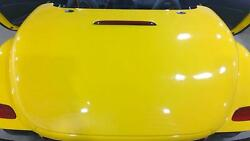 97-02 Plymouth Chrysler Prowler Trunk/deck Lid Prowler Yellow Qy3 See Notes