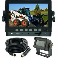 Autopal 7 Inches Wired Monitor Rear View Backup Camera System For Farm Tractor