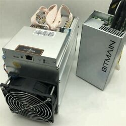 Antminer T9+ With Bitmain 1600w Power Supply Bitcoin Btc Bch Miner Ship By Dhl