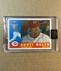 2021 Topps Archives Signature Series 2009 Heritage Scott Rolen /87 On-card Auto