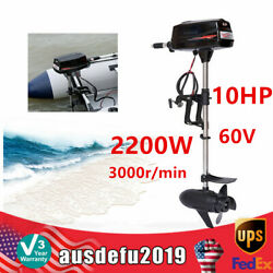 Hangkai 60v 10hp High Power Electric Outboard Brushless Motor 2200w 3000r/min