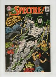 The Spectre 1 Vf/nm Murphy Anderson Cvr And Art Beautiful Black Cover Dc 1967