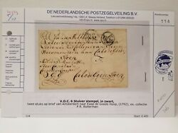 1792 Letter From Amsterdam To Kaap De Goede Hoop Artifact Antique History