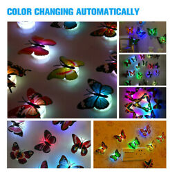 Butterfly Wall Stickers 3D Metallic Art Decals Room Decorations Decor