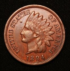 1894 Indian Head Penny, Better Date