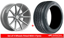 Alloy Wheels And Tyres 20 Inovit Frixion 5 For Seat Tarraco 19-20