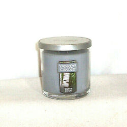 Yankee Candle SILVER BIRCH Small Tumbler Candle 7oz