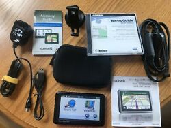 Garmin Nuvi 1390t Automobile Gps Bundle. Great For Not Getting Lost