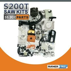 Complete Repair Kit Cylinder Piston Compatible With Stihl Ms200t 020t Chainsaw