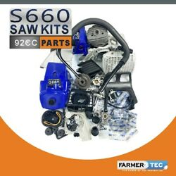 Complete Repair Parts Kit Engine Motor Crankcase Compatible With Stihl Ms660 066