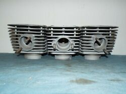 Kawasaki H2 750 Cylinders Left Center Right Early Tp-1 Square Cut Nice