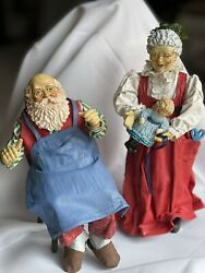 Possible Dreams Clothtique Santa And Mrs Claus 1988/1989