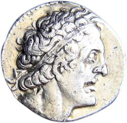 Certified Authentic Ancient Greek Coin Ptolemaic Tetradrachm Tyre Gem W/coa