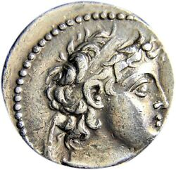 Certified Authentic Ancient Greek Coin Seleukid Kings Antiochus Vii Gem Quality