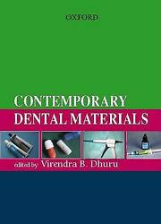 Contemporary Dental Materials Textbook Series In Dentistry By