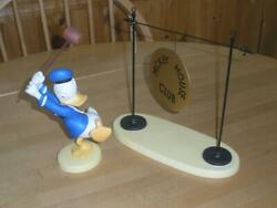 New Wdcc Donald Duck The Big Finish Mickey Mouse Club Drum Original Box And Coa