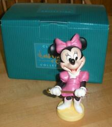 New Wdcc Minnie Mouse Join The Parade Mickey Mouse Club Band Piece Coa