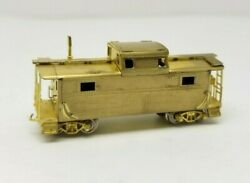 Iron Horse Precision Scale Co Brass N Scale Boston And Maine Caboose N-5 67001
