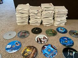 Lot Of 500andnbsp Dvds - Movies And Tv Shows - Block Buster Dvd Blow Out