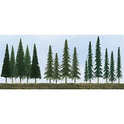 Jtt Scenery Products 92118 N/ho 2.5 - 6 Pine Conifer Spruce Pack Of 90