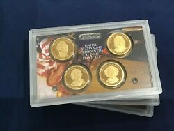 2008-s Presidential Dcam Proof Dollar 4 Coin Set Lot Of 10 Sets E7823