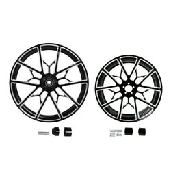 21/23/26/30x3.5''+front 18x5.5'' Rear Wheel Rim Hub Fit For Harley Touring 08-21