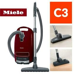 Miele Complete C3 Limited Edition Tayberry Red Vacuum Cleaner