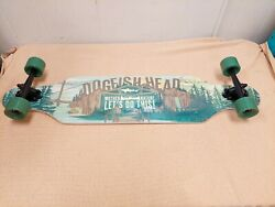 Dogfish Head Longboard Beer Advertising Shop Bar Pub Mother Nature Let's Do This