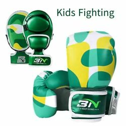 Kids Boxing Gloves Hand Fighting Training Sparring Punching Kickboxing Equipment