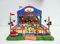 Lemax Carnival, Crazy Cars, Moving, Lighted And Animated, In The Original Box