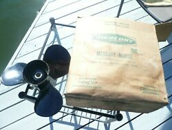 Mercury 48-79572, 17 Pitch Boat Prop Alum,near Mint Look At The Blades, Clean