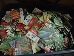 Organic Seeds Vegetable Fruits Herbs Flowers Mixed Lot 5000 Worth Sale By 2021