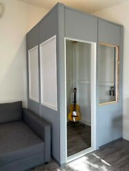 Acoustic Sound Proof Music Recording Booth Studio Office Unit