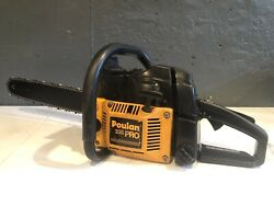 Poulan Pro 335 Chainsaw W/ 20 Bar And Chain