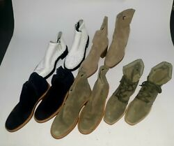 Aquatalia Womens Booties +shoes Samples Lot 50 Pairs Size 6 1/2 Us
