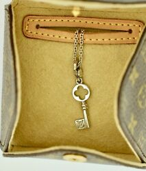 Louis Vuitton Necklace Pendant 18k Gold Love Key Made In France 100 Authentic