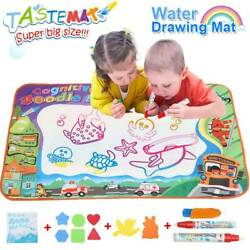 70*100cm Large Kids Drawing Mat Water Painting Writing Board Aqua Doodle Toys