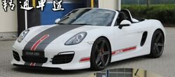 718 Boxster Cayman Whole Body Sticker Decal For Porsche 718 Boxster Cayman