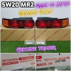 Brand New Jdm Genuine Toyota Sw20 Mr2 94-99 Taillights Tail Lights Lamps Rare