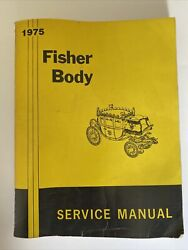 1975 Fisher Auto Body Factory Service Manual - Must See