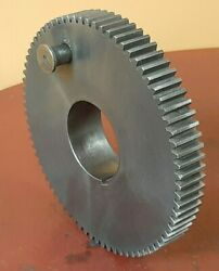 South Bend 9 10k Light 10 Lathe Headstock Spindle Bull Gear New Condition